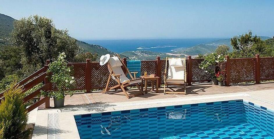 Beautiful 1 bedroom villa with secluded pool - İslamlar Köyü