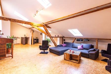 Großzügiges saniertes Loft in schönem Fachwerkhaus - Baden-Baden - Loft