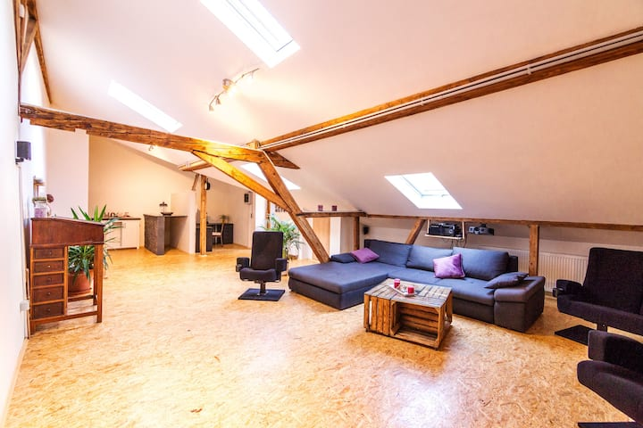 Großzügiges saniertes Loft in schönem Fachwerkhaus