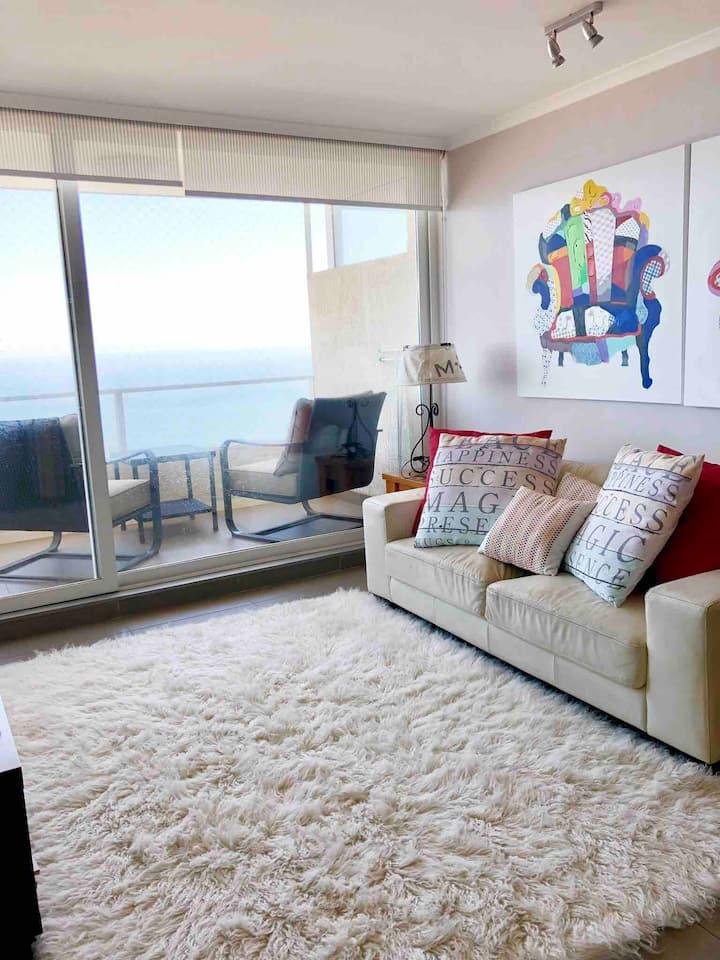 Precioso departamento con la mejor vista al mar