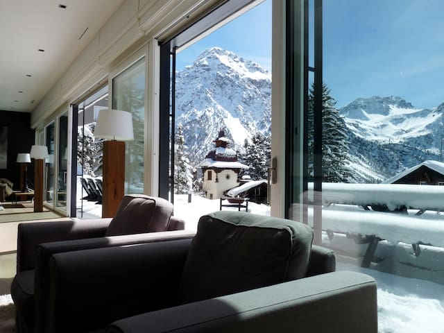 Spacious luxury apartment in the Swiss Alps - Arosa - Andre