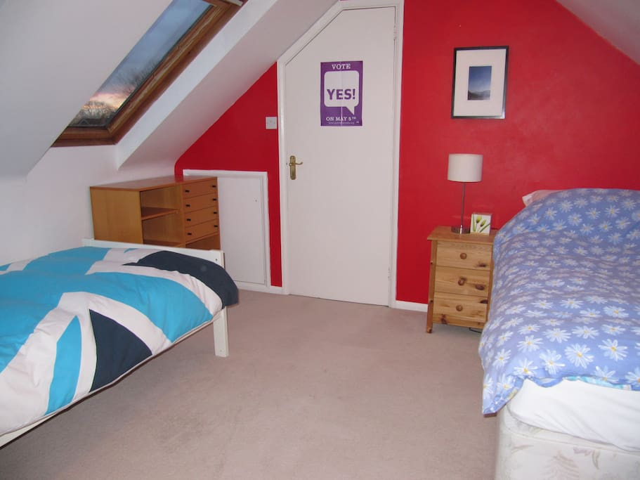 bedroom 2 - option with twin beds