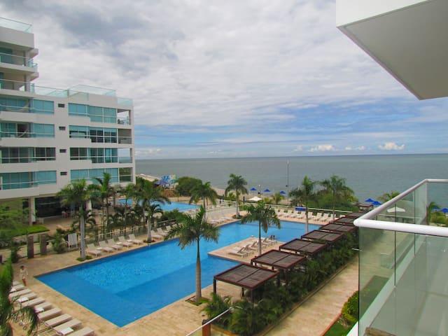 Apartamento Bellohorizonte - Frente al Mar SMR226A - Santa Marta - Pis