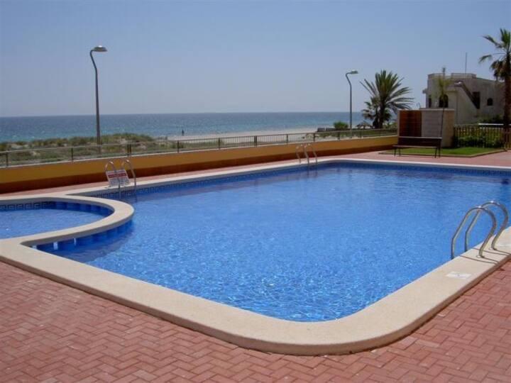 Apartments on the beachfront. Ref.playa principe-45