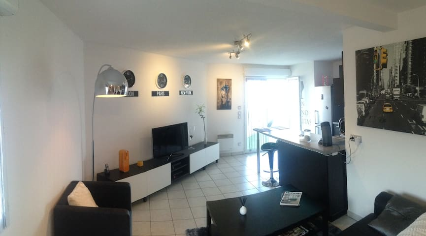Bright room near downtown - Clermont-Ferrand - Huoneisto
