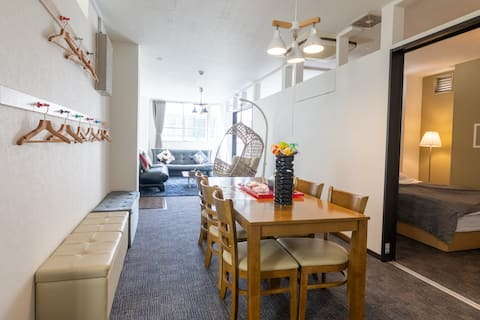 3min Hiroshima St up2 12 3bedrooms(6beds)+wifi#27