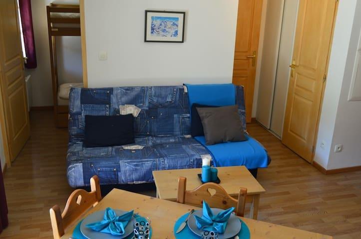 T2 pour 4 personnes en front de neige - MONTGENEVRE - Apartment