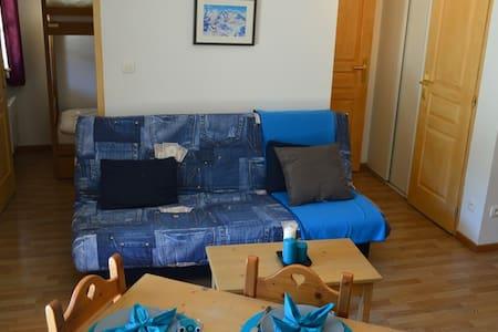 T2 pour 4 personnes en front de neige - MONTGENEVRE - Apartemen