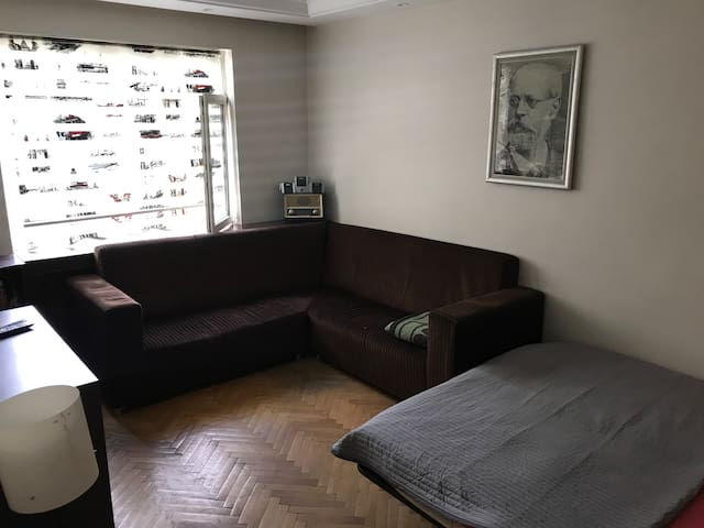 Special room in the center of city w/ nice terrace