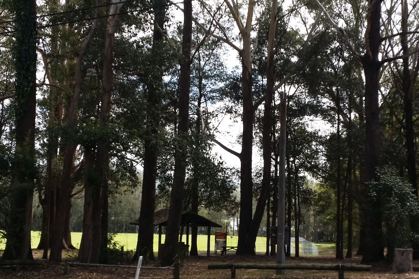 Fagan Park- Beautiful park, walk and water way across from guest house