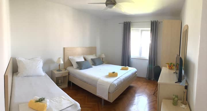 Charming West side room in beautiful Supetar