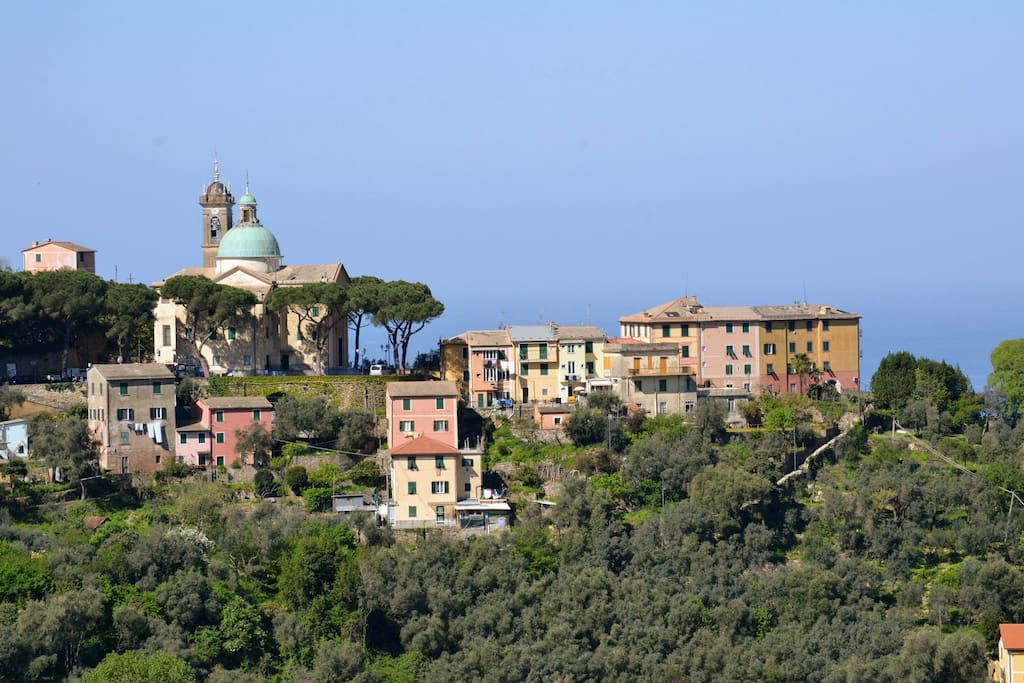 San Rocco's church from distance