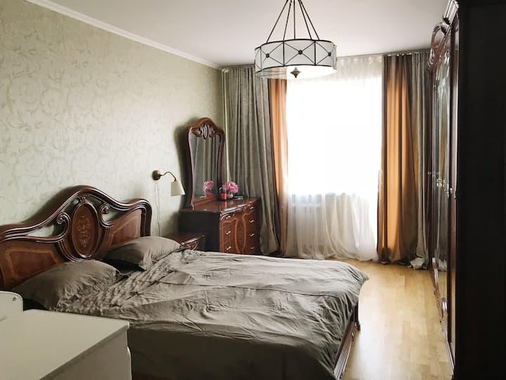 1-bedroom apartment 25min from LUZHNIKI (FIFA)