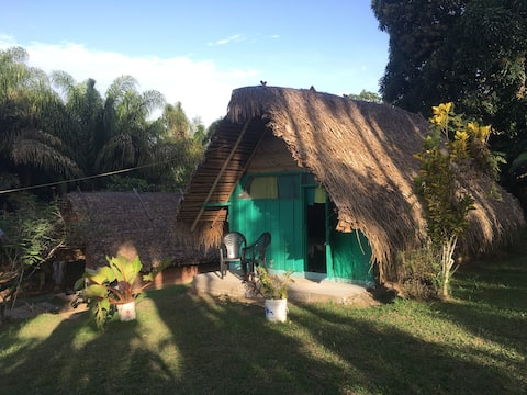 Simple but Wonderful HUT in Kamp Makandi Boto-Pasi