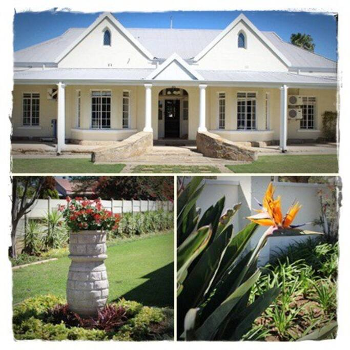 Our beautiful classic surviving SA guesthouse.