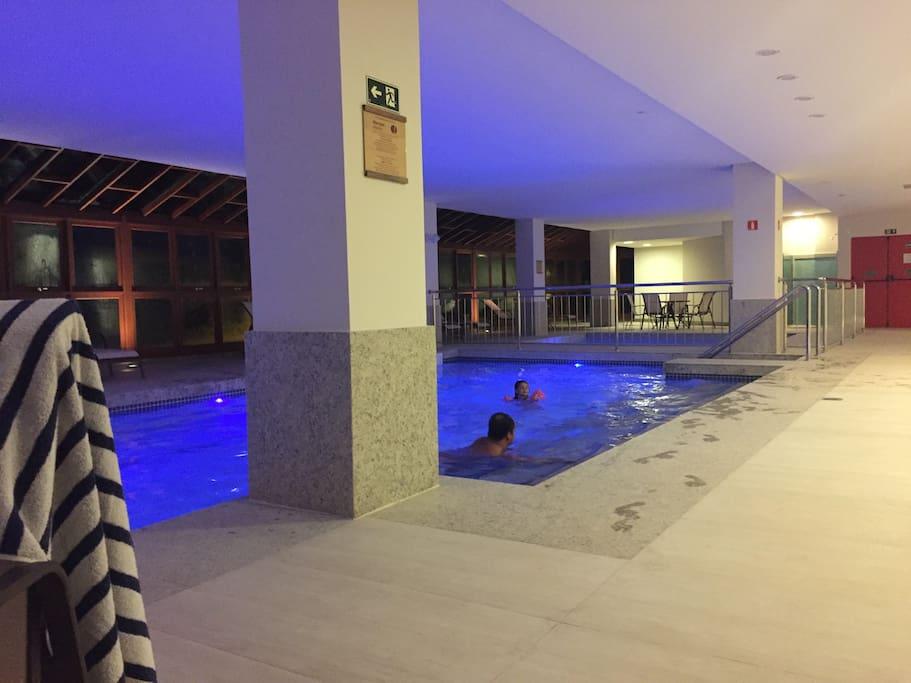 Espaço Termal: Piscinas aquecidas, saunas, hidro...