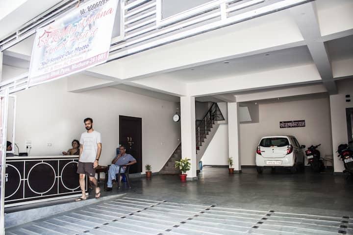 Welcome to Brij, Sri Radhey Krishna Guest House