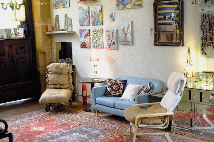 """""""La Maison des Colonies"""" Parisian Artist's Loft - Paris - Apartment"""