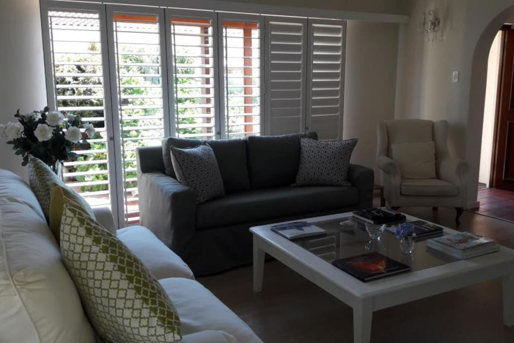 Lounge with American Shutters