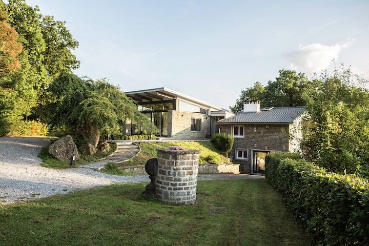 Villa de lujo con jardín privado en Durbuy