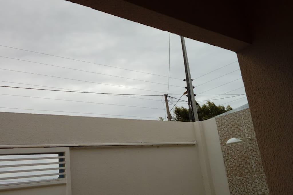 Cerca elétrica e chuveirão