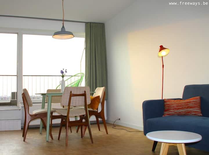Mindblowing little penthouse in Antwerp!
