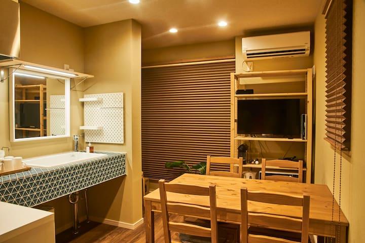 Japanese design new house, 4bed, 3min Asakusa -201