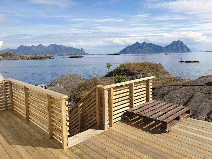 Lofoten Svolvær - Idyllic house by the sea