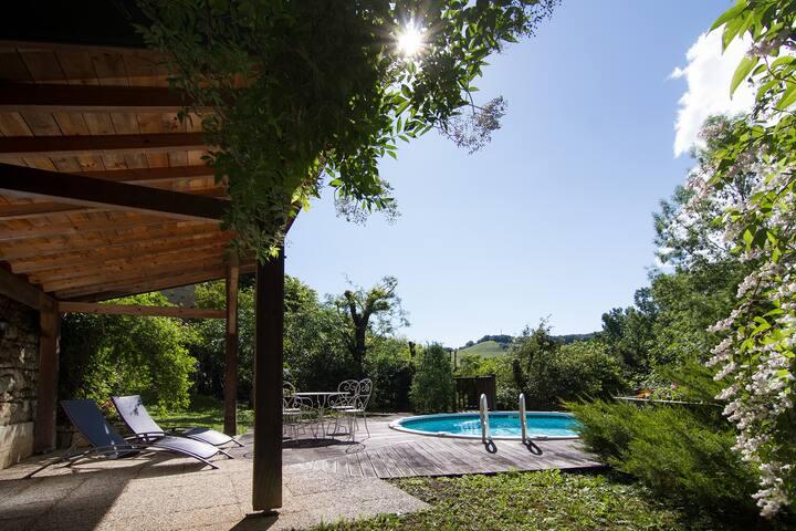 """Belle maison de maître """"Près du Lac"""" avec piscine"""