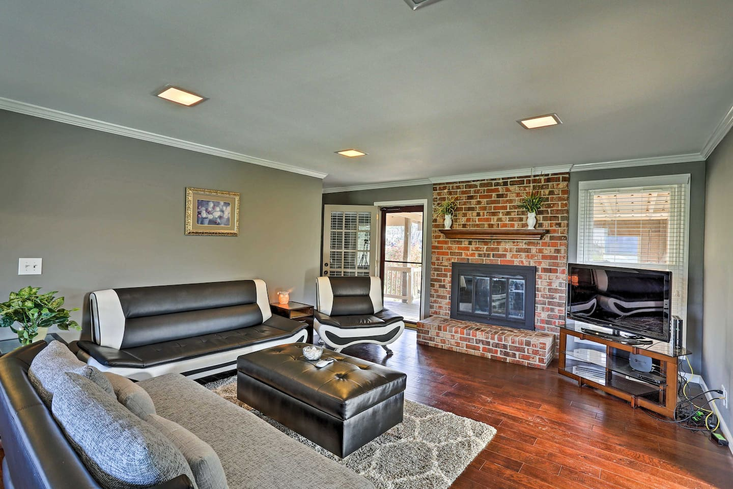 Experience Nashville from this 4-bedroom, 3-bathroom vacation rental home.