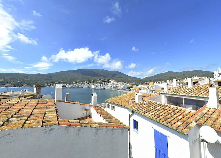 101.133_Apartment with one bedroom and terrace with sea views next to Es Poal Beach