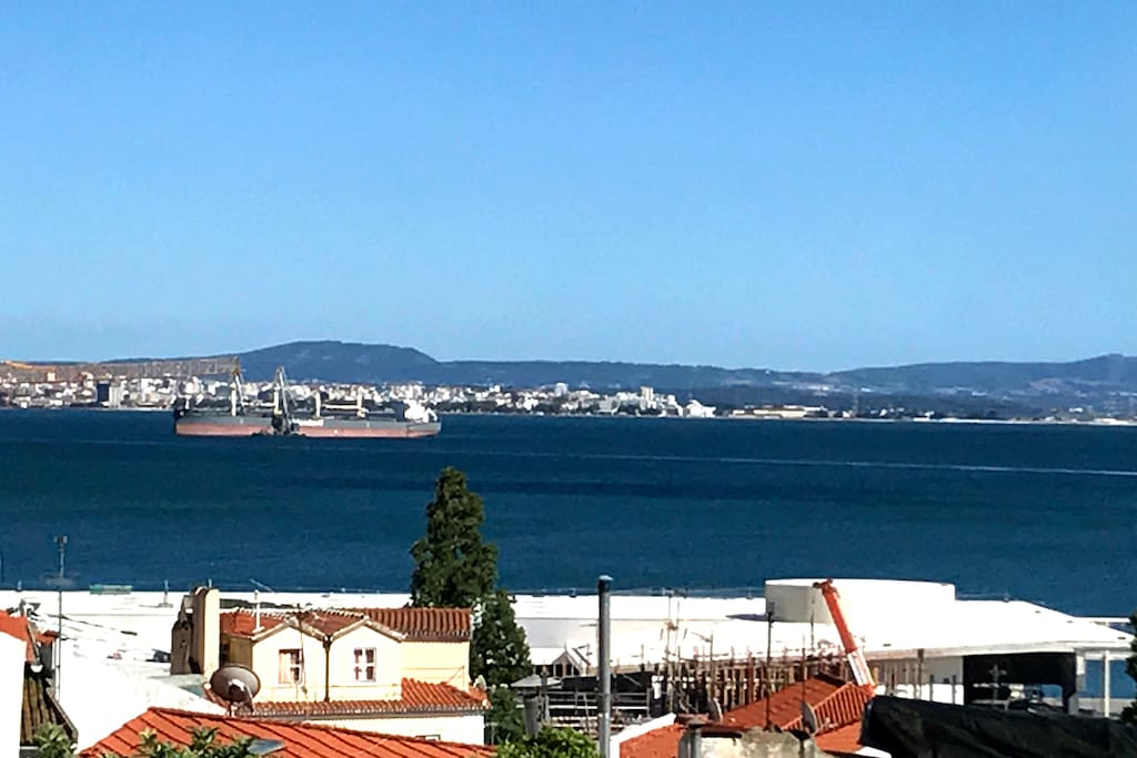 Panoramic view from the balcony 1
