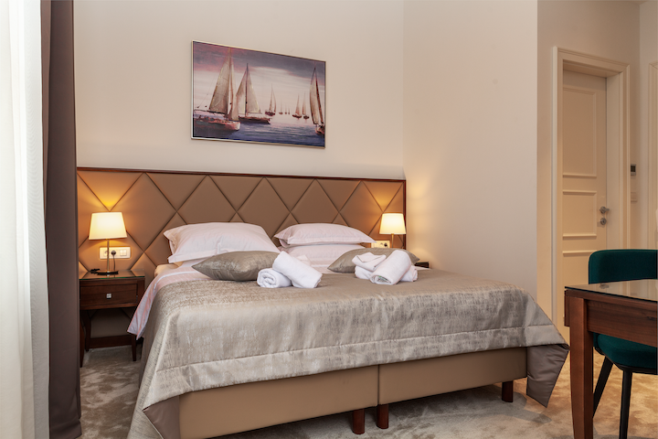 Luxury Rooms Tilia 4*, Room with the parkview