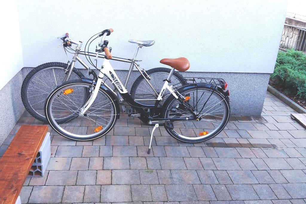 Bikes for exploring Ljubljana's hidden places
