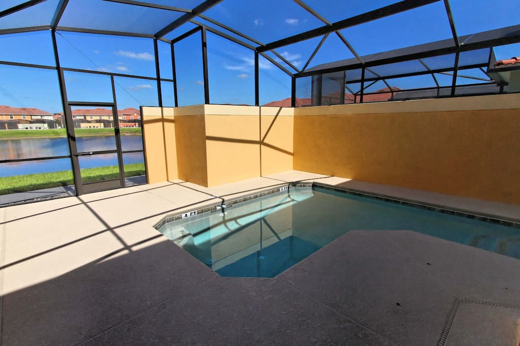 Sit on the sun-deck and soak in the rays, or take a refreshing dip in the clear water of this private plunge pool.