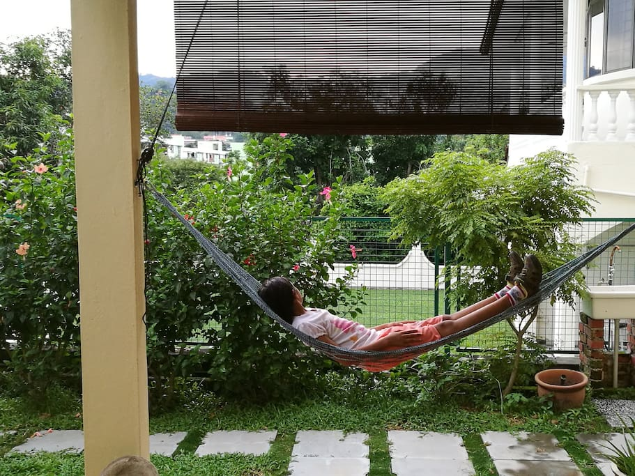 Enjoy the hammock :-)