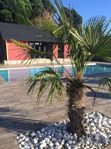 Maison piscine Jacuzzi normandie - Vatteville-la-Rue - Villa