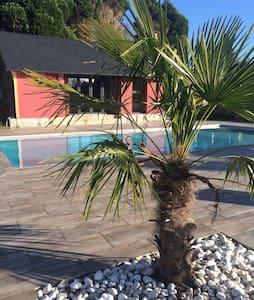 Maison piscine Normandie - Vatteville-la-Rue