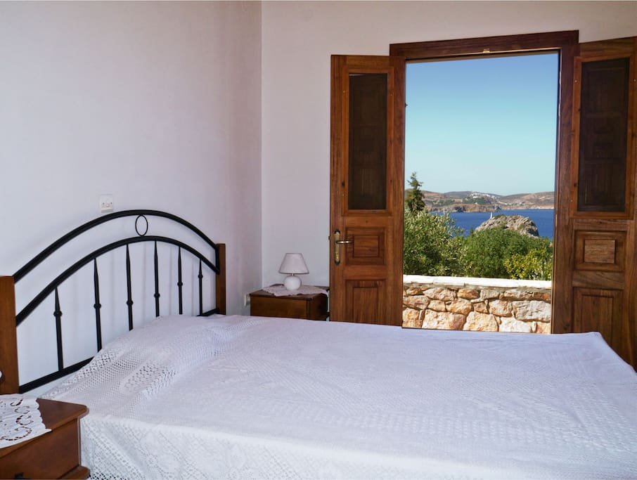 Marvellous sea view from your bedroom !!!