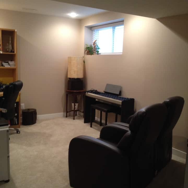 Cozy and Bright Basement Suite