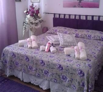 Camera  Matrimoniale con bagno e cucina privata