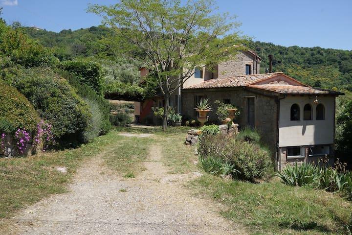 Villa mit Panorama 6 Personen großer Garten Teich - Roccatederighi - วิลล่า