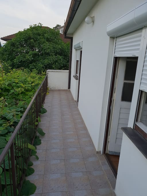 balkon za ugodan odmor