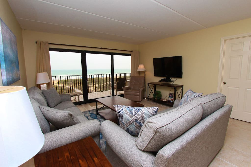 Fantastic  Ocean Views From The Living Area