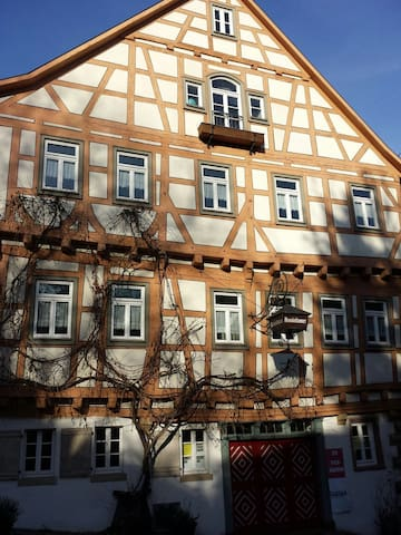 Room in historic house 15th century - Bad Wimpfen - Apartemen