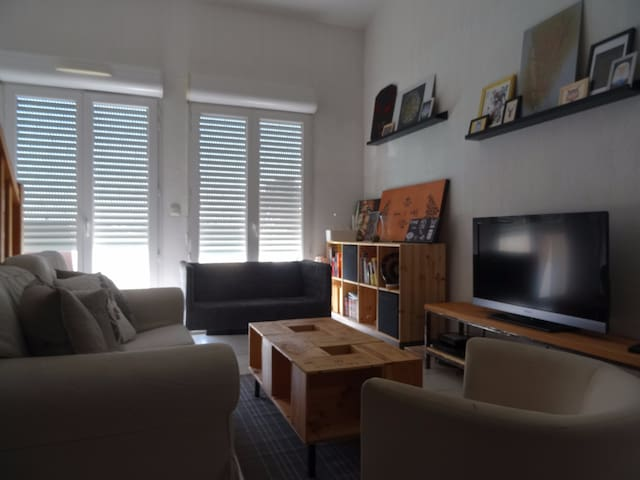 T4 à Bordeaux 6 pers à 10min du centre + parking - Bègles - Apartemen