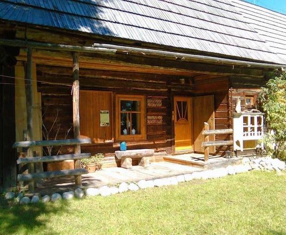 """""""Dziupla""""- Berghütte mit Sauna in der Hohen Tatra - Brzegi - บ้าน"""