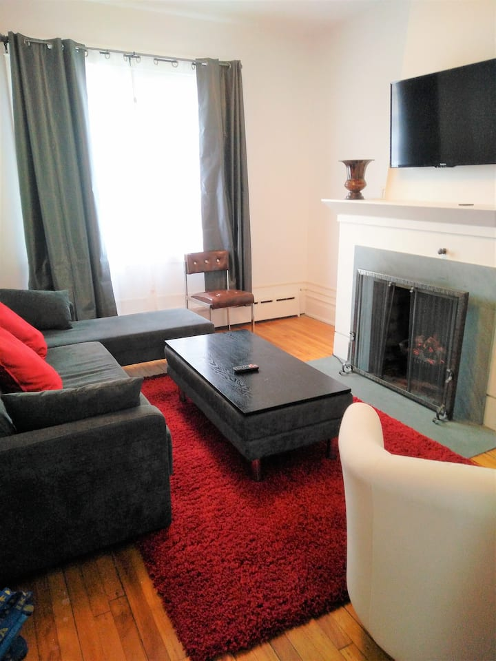 Modern 4 bedroom house close to UOttawa w parking