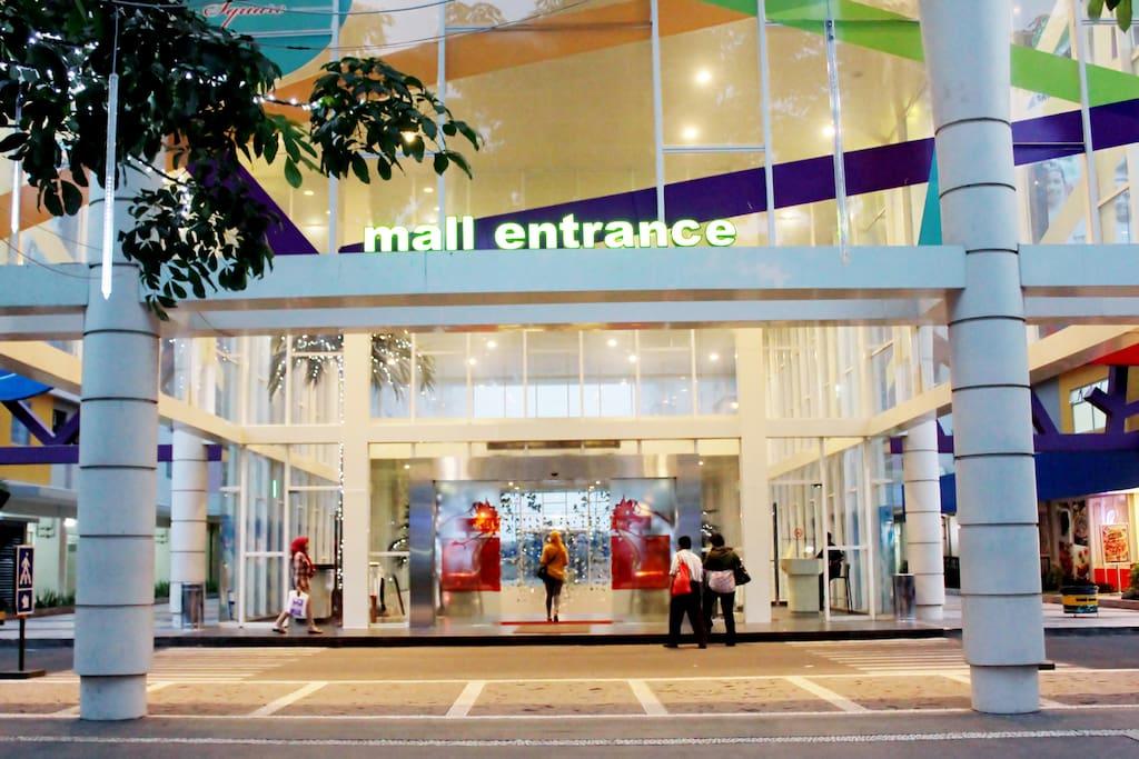 Mall inside Kalibata City