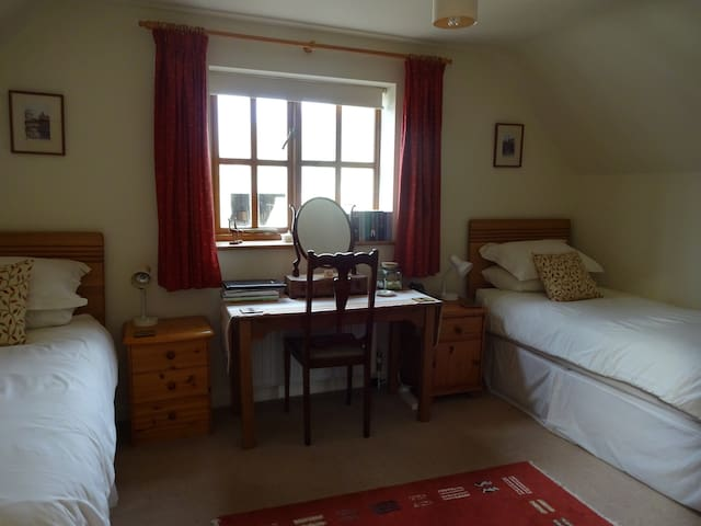 Cosy but spacious twin bedded room - Surrey - Bed & Breakfast